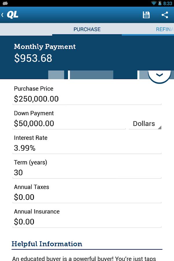 Mortgage Calculator Quicken