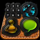 Leather - GO Launcher Theme mobile app icon