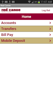 Red Canoe CU Mobile Banking - screenshot thumbnail