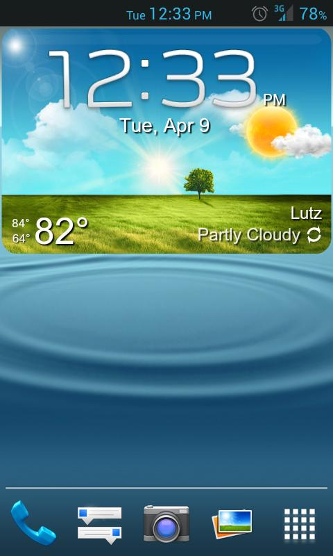 GS3 ish Weather (a UCCW Skin) - screenshot