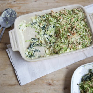Super Greens And Cheese Casserole