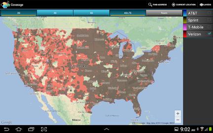 CellMaps Mobile Coverage Screenshot 8