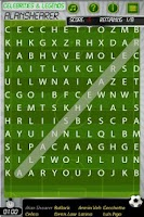 Screenshot of Word Search Soccer Free