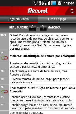 Jornal Record- screenshot