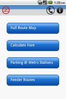 Screenshot of Delhi Metro