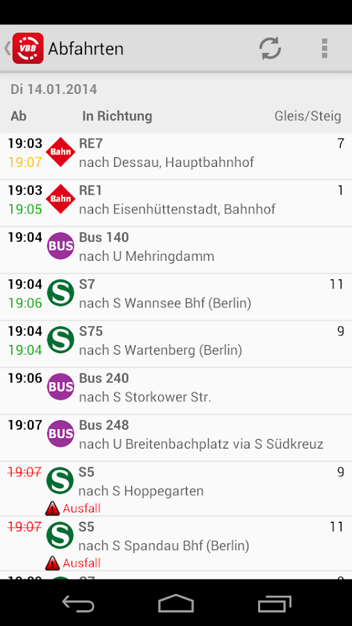 Bus & Bahn - screenshot