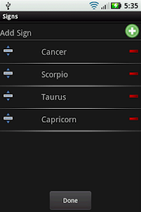 Daily Horoscope - screenshot thumbnail