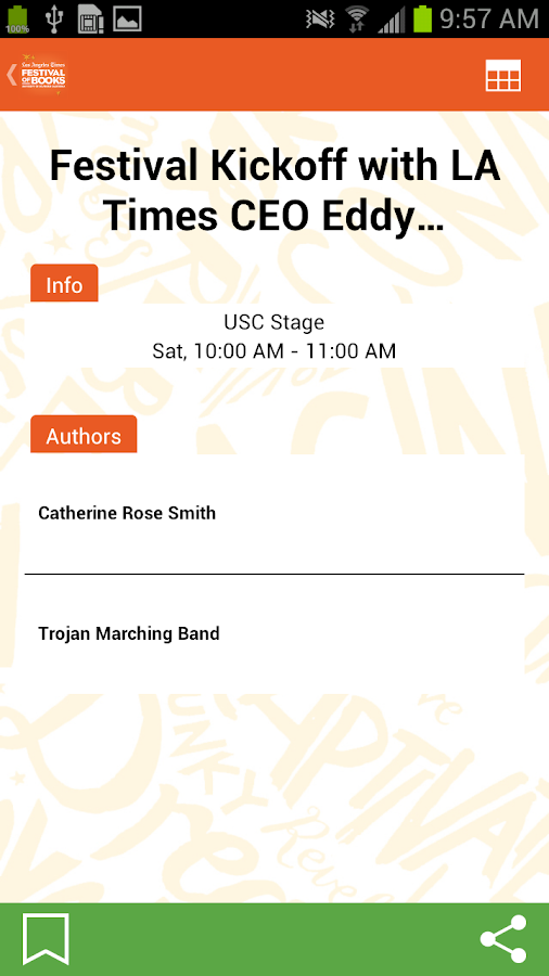 LA Times Festival of Books - screenshot