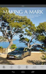 Aston Martin Magazine - screenshot thumbnail