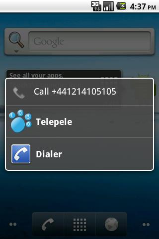 Telepele 1030 - old version- screenshot
