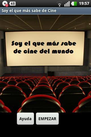 Soy el que + sabe de Cine Free