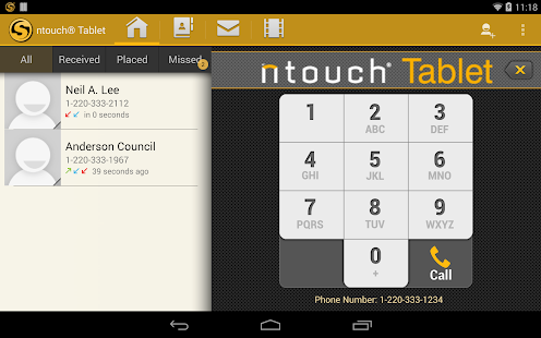 ntouch® Mobile - screenshot thumbnail
