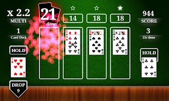 Screenshot of Simply 21 - Blackjack