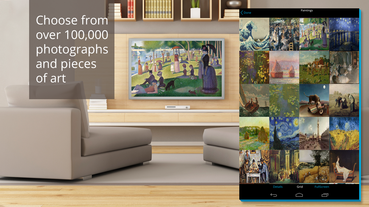 Artkick: Art for Free on TV- screenshot