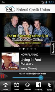 92.5 WBEE FM Rochester - screenshot thumbnail