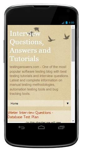 Software Testing Tutorials- screenshot