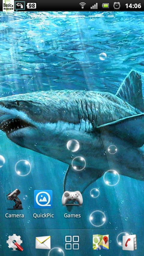 live shark wallpaper - photo #34
