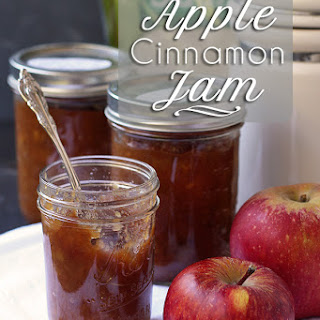 Apple Jam with Cinnamon (Pectin Free).