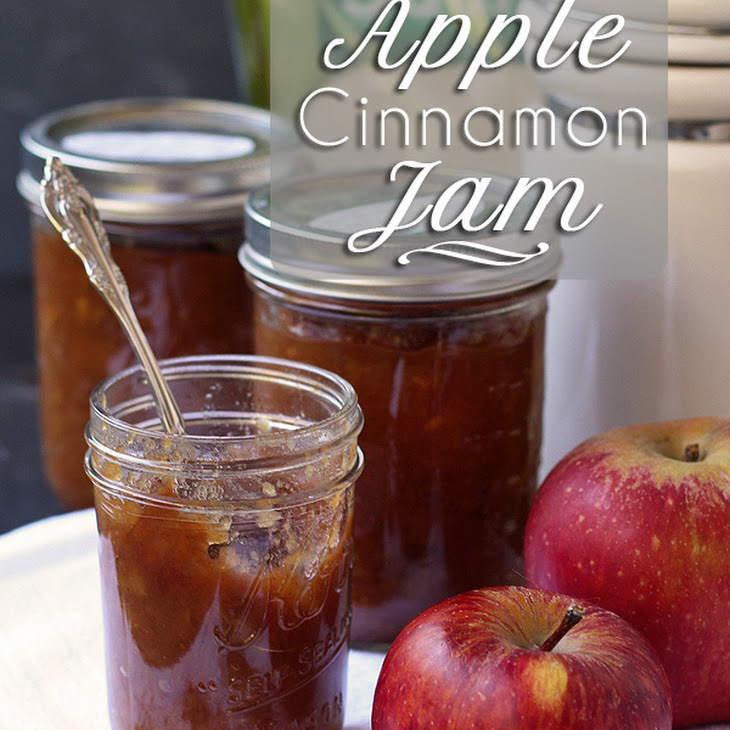 Apple Jam with Cinnamon (Pectin Free) Recipe
