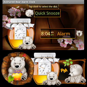 Free Apk android  Animated Bear Clock Widget 1.0  free updated on