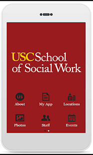USC School of Social Work - screenshot thumbnail