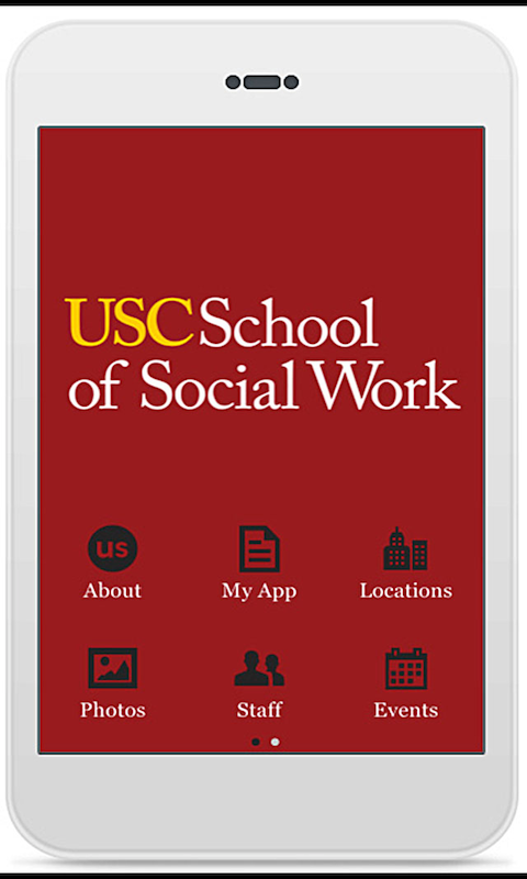 USC School of Social Work - screenshot