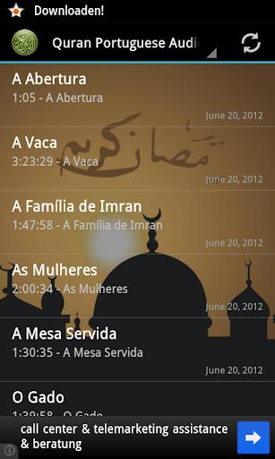 Quran Portuguese Translation
