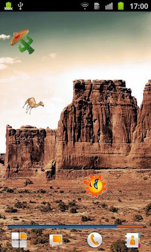 沙漠生活壁紙