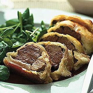 Lamb En Croûte With Redcurrant Sauce