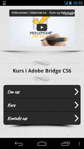 Kurs i Bridge CS6