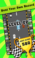 Screenshot of Car Racing Game - Speedy Racer