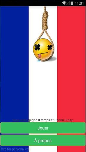 le Pendu - Jeux en francais