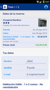 Booking.com: +600.000 hoteles - screenshot thumbnail