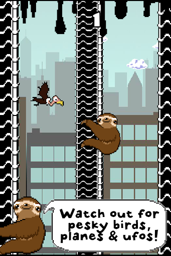 Slippy Sloth - Climbing Game