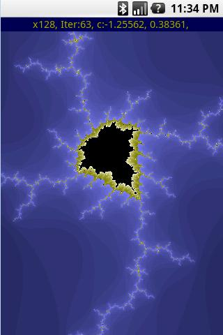 Mandelbrot Map 2 - screenshot