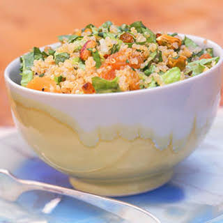 Quinoa Salad with Apricots and Pistachios.