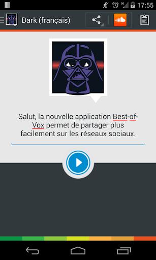 Voix Dark français