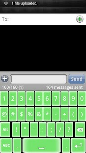 Soft Green Keyboard Skin - screenshot thumbnail