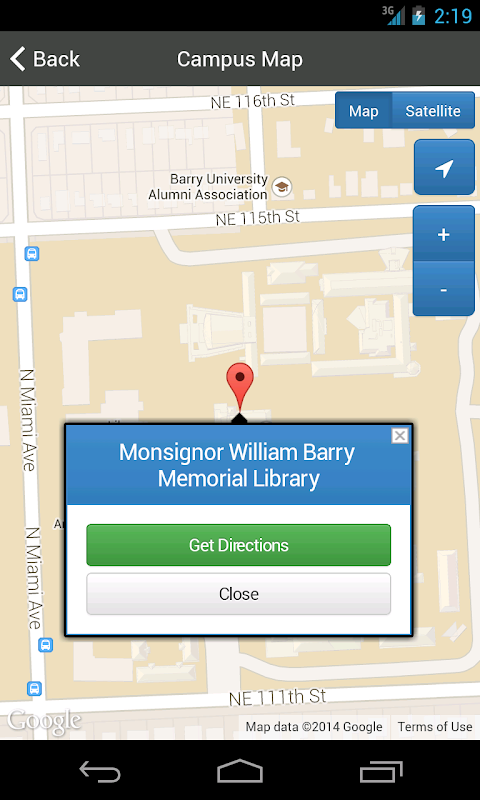 Barry University Campus Map Apk 1 0 0 Download Free Travel Local