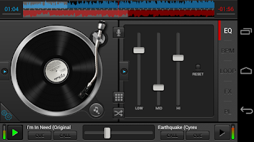 Screenshot of DJ Studio 5 - Free music mixer