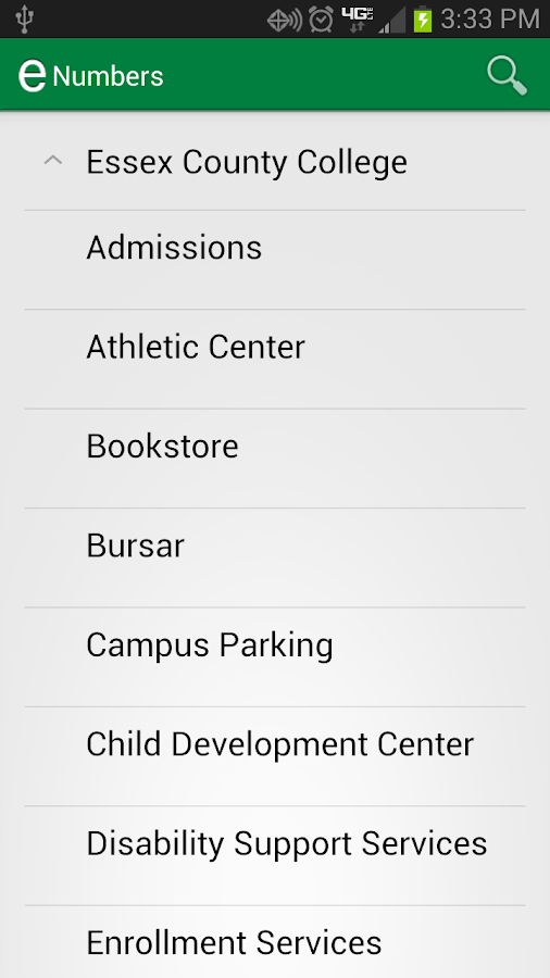Essex County College Mobile - screenshot