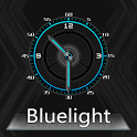BlueLight Clock Widget icon