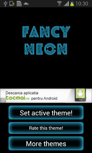 Fancy Neon Keyboard 1.1   app screenshot
