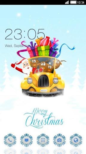 New Year Gift C Launcher Theme