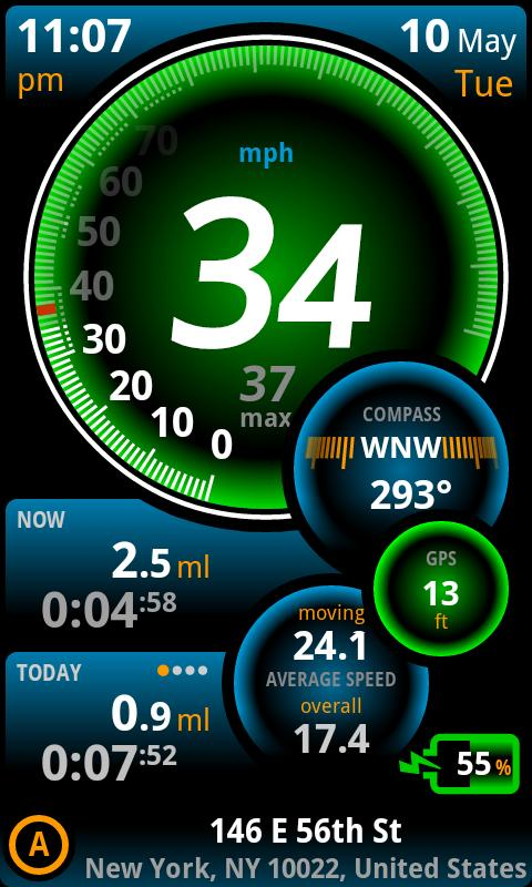 Ulysse Speedometer Pro Screenshot 2