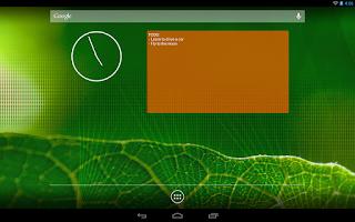 Screenshot of Memento Widget