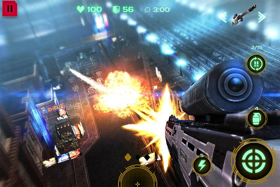 Dead Earth: Age of Mechs & Sci-fi Robot Shooter 3D- screenshot