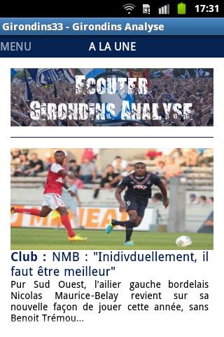 Girondins33 Girondins Analyse