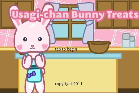 Usagi-chan Bunny Treats- screenshot