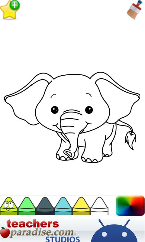 Baby Animals Coloring Book Screenshot